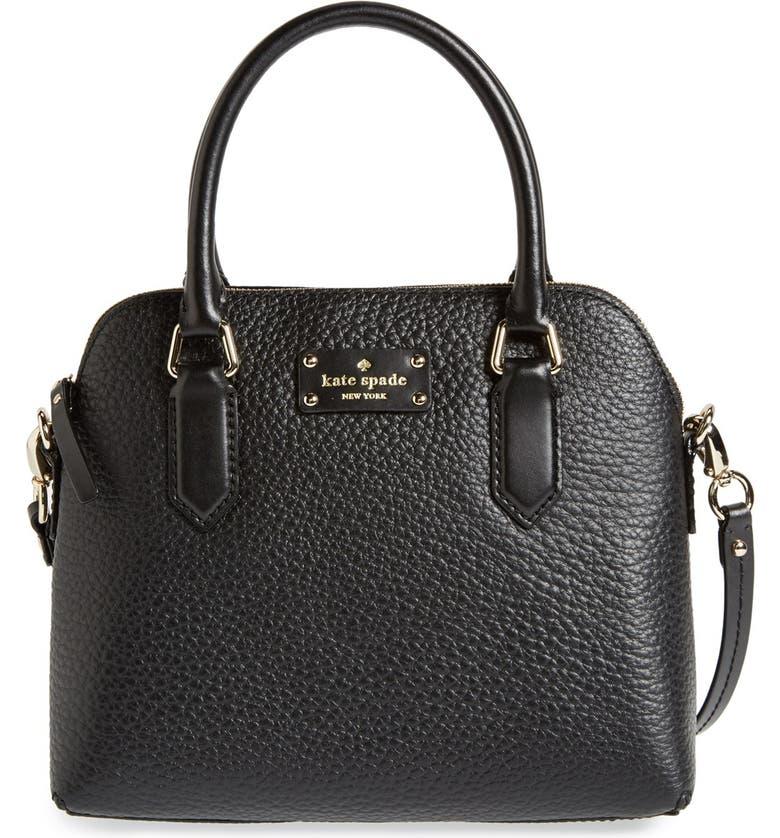 KATE SPADE NEW YORK 'grove court - maise' leather satchel, Main, color, 001