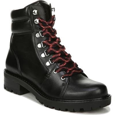Sam Edelman Tamia Lace-Up Hiking Boot, Black