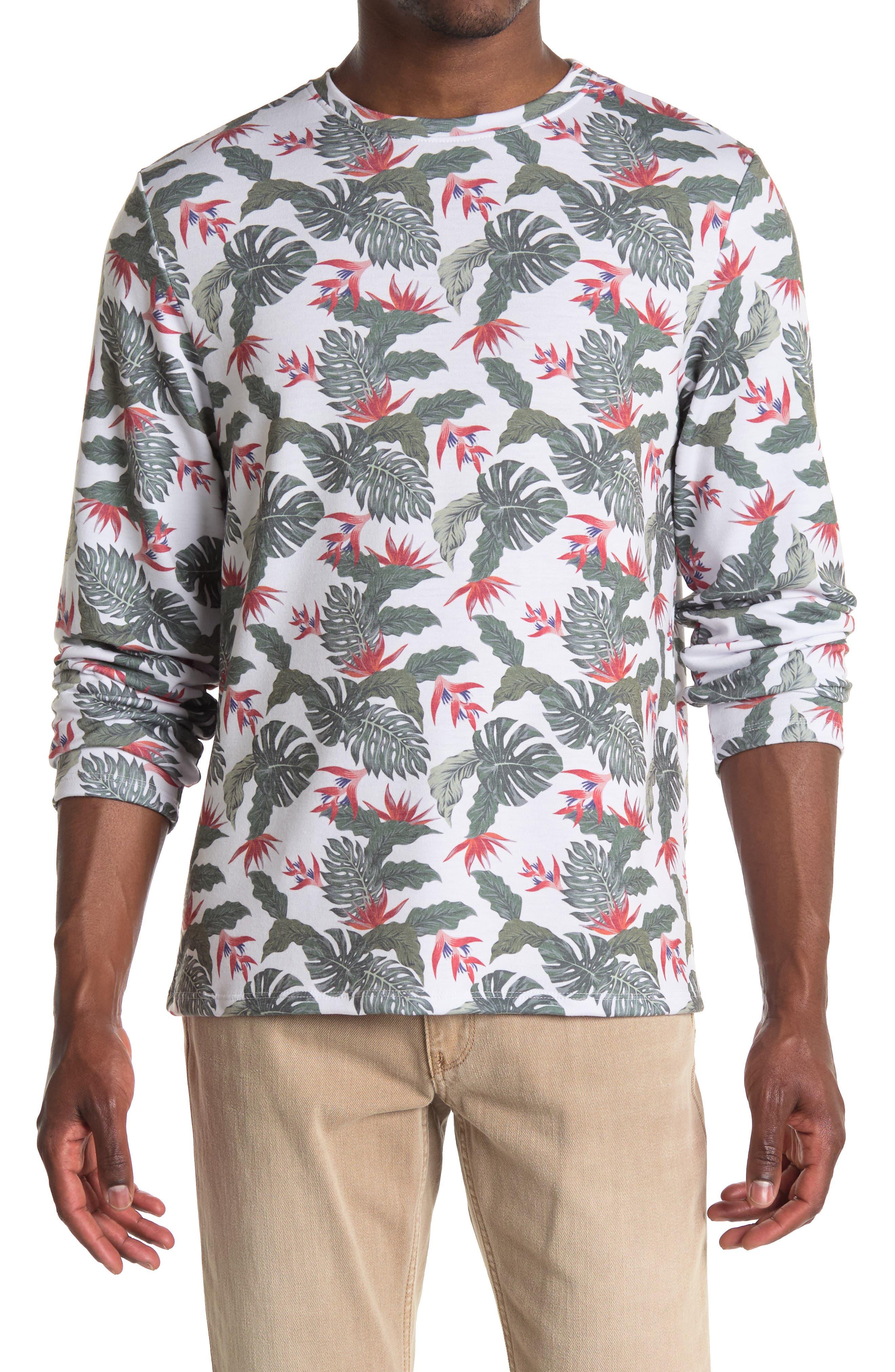 Image of Chillin Dylan Baja Man Printed Long Sleeve Crew Neck T-Shirt