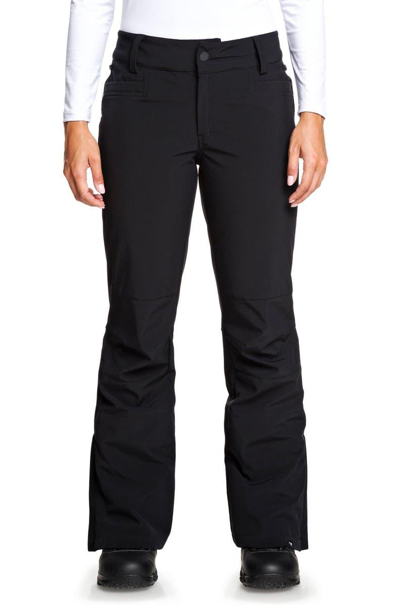 ROXY Creek Short Snow Pants, Main, color, 002
