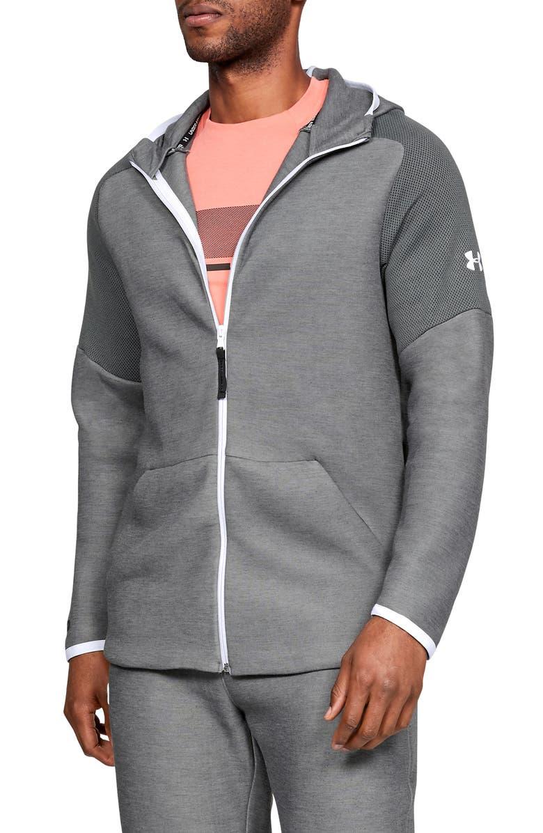 14bdf42cc7 Under Armour Unstoppable Move Light Full-Zip Hooded Sweatshirt ...
