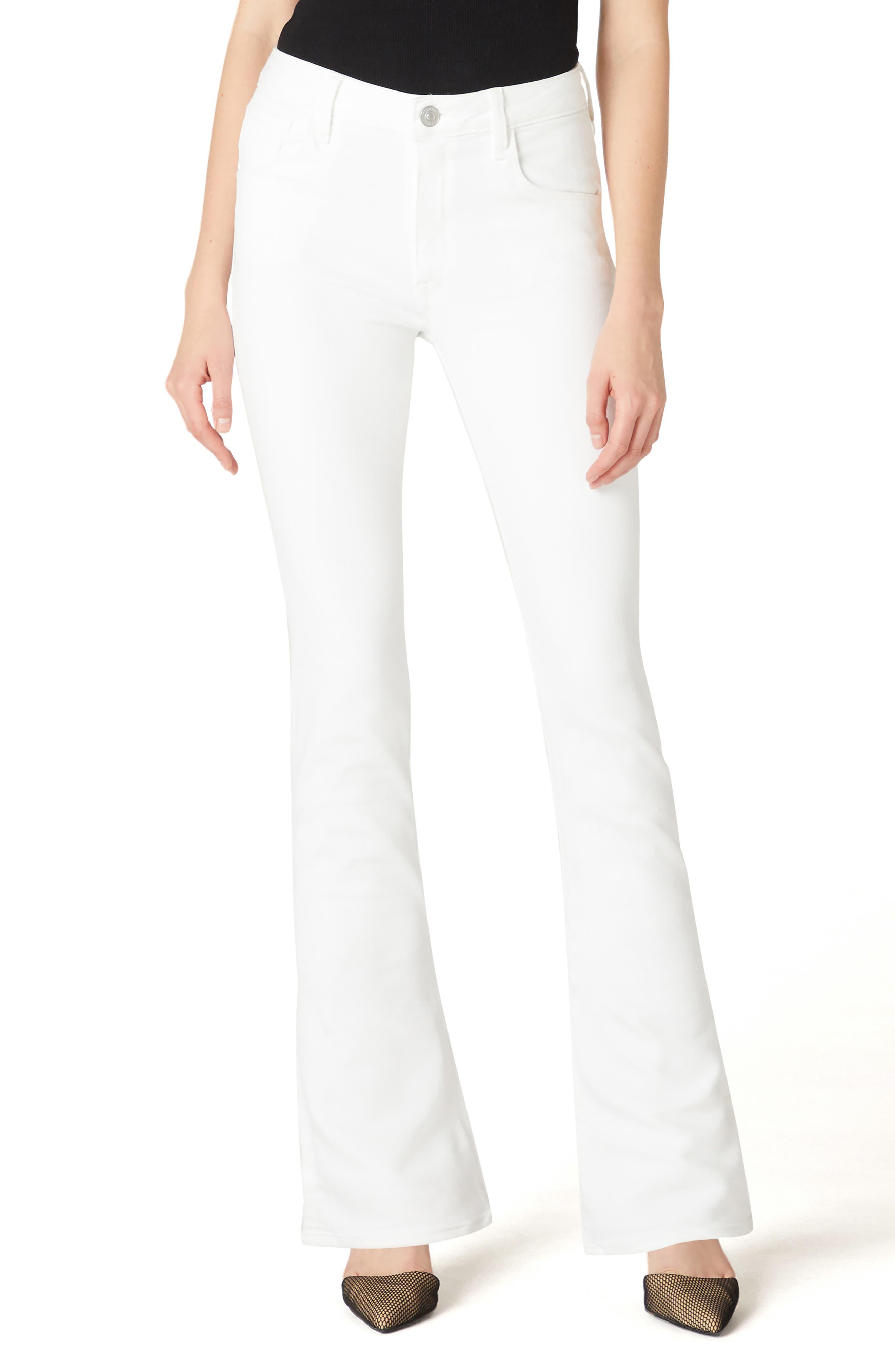 Women's Hudson Jeans Holly High Waist Flap Pocket Flare Leg Jeans
