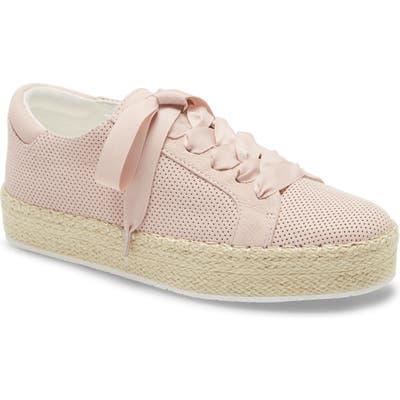 Kenneth Cole Kamspadrille Platform Sneaker, Pink
