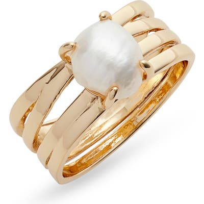 Halogen Cultured Pearl Ring