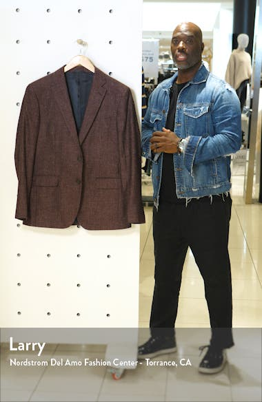 Saint John Regular Fit Wool, Cotton & Linen Sport Coat, sales video thumbnail
