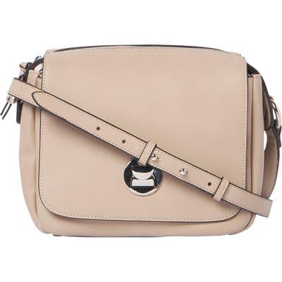 Urban Originals Vegan Leather Crossbody Bag - Beige