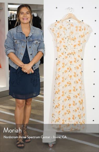 Floral Wellfleet Back Cutout Dress, sales video thumbnail