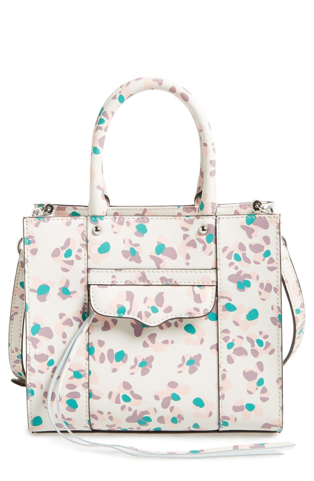 ,                             'Mini MAB Tote' Crossbody Bag,                             Main thumbnail 106, color,                             653