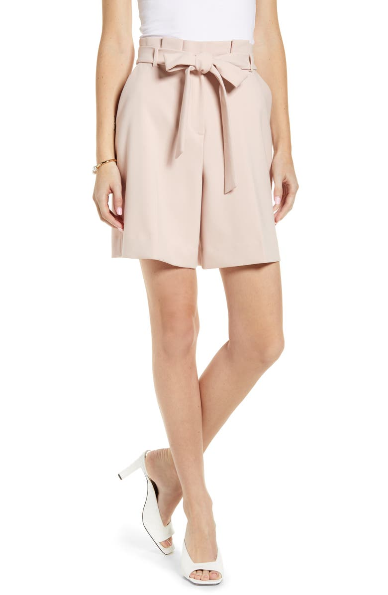 RACHEL PARCELL Paperbag Twill Short, Main, color, 680