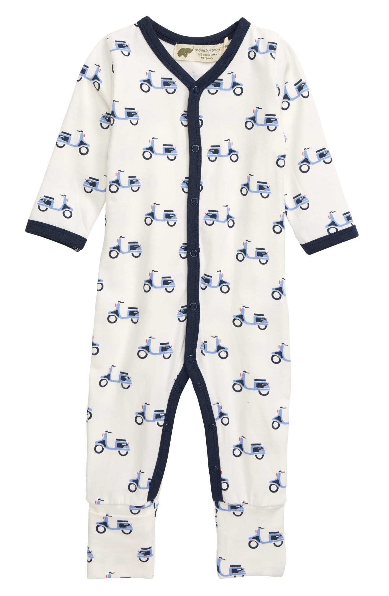 Monica + Andy On the Go Convertible Romper (Baby) | Nordstrom