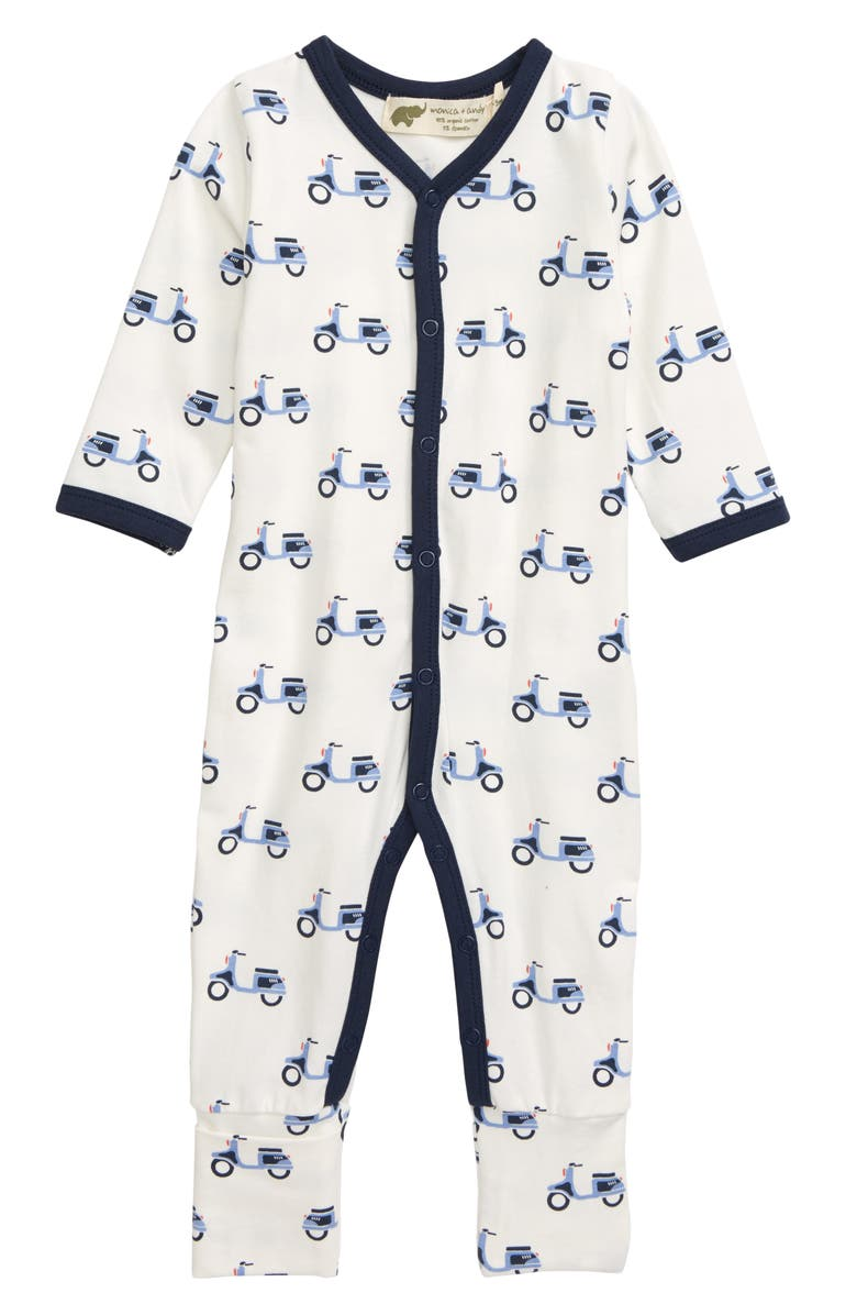 MONICA + ANDY On the Go Convertible Romper, Main, color, SCOOT AROUND