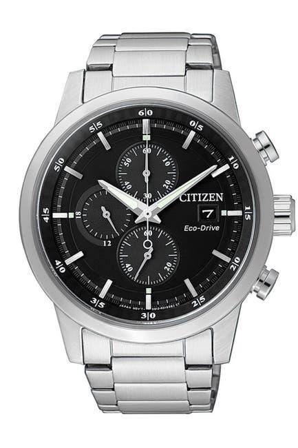 Image of Citizen Men's Eco-Drive Chronograph Watch, 47mm