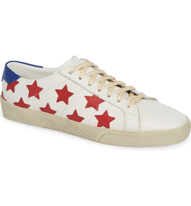 a99d9b46021 Saint Laurent Star Low-Top Sneaker (Men) | Nordstrom