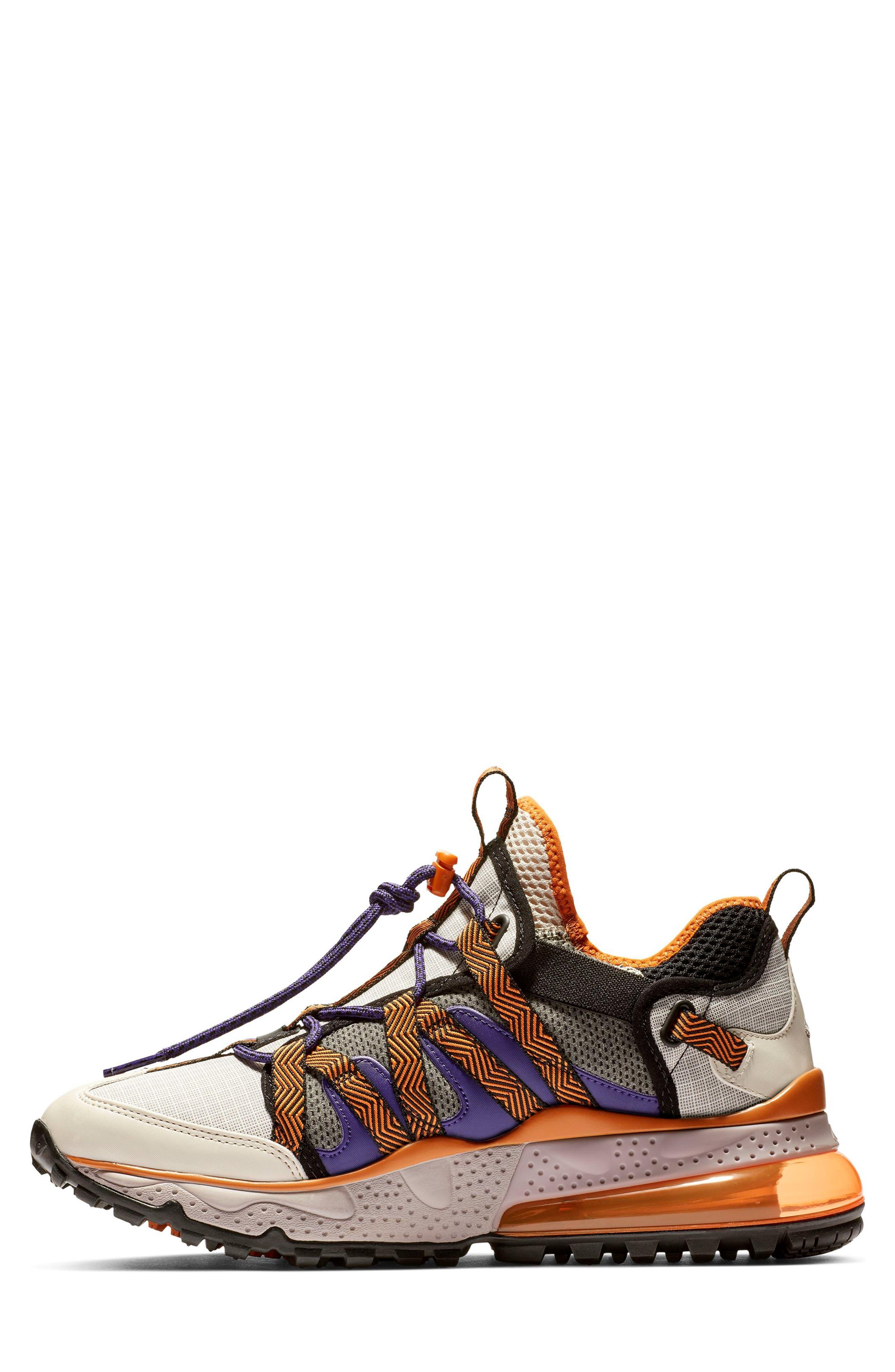 ,                             Air Max 270 Bowfin Sneaker,                             Alternate thumbnail 2, color,                             PUMICE/ BROWN/ CINDER ORANGE