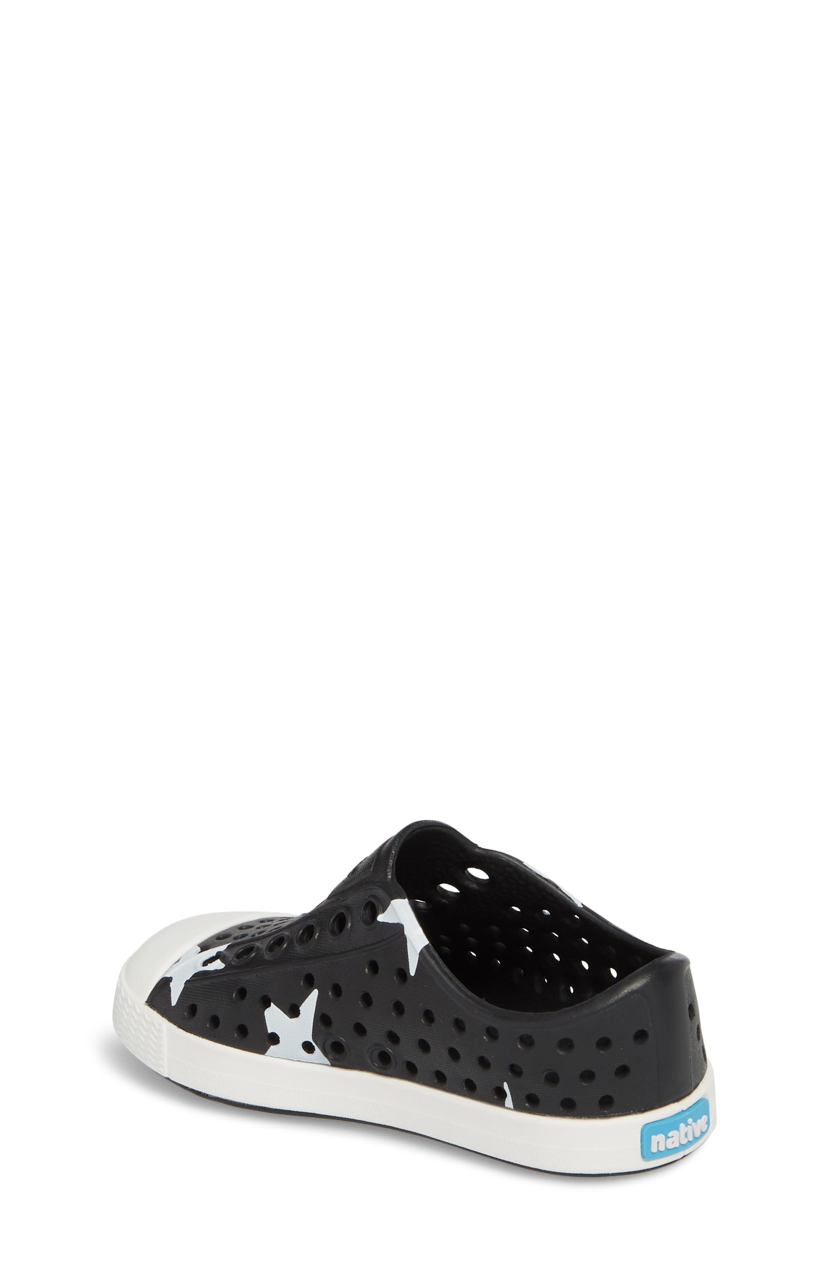 ,                             Jefferson Quartz Slip-On Sneaker,                             Alternate thumbnail 2, color,                             JIFFY BLACK/ WHITE/ STAR