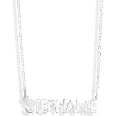 Argento Vivo Small Personalized Name Necklace