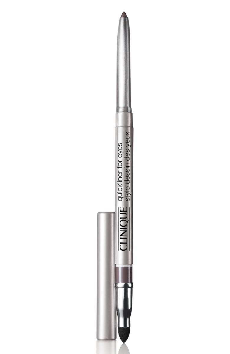 CLINIQUE Quickliner for Eyes Eyeliner Pencil, Main, color, SMOKEY BROWN