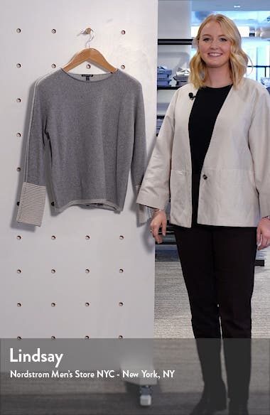 Cashmere Blend Sweater, sales video thumbnail
