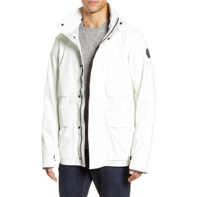 Canada Goose Meaford Waterproof Jacket, White