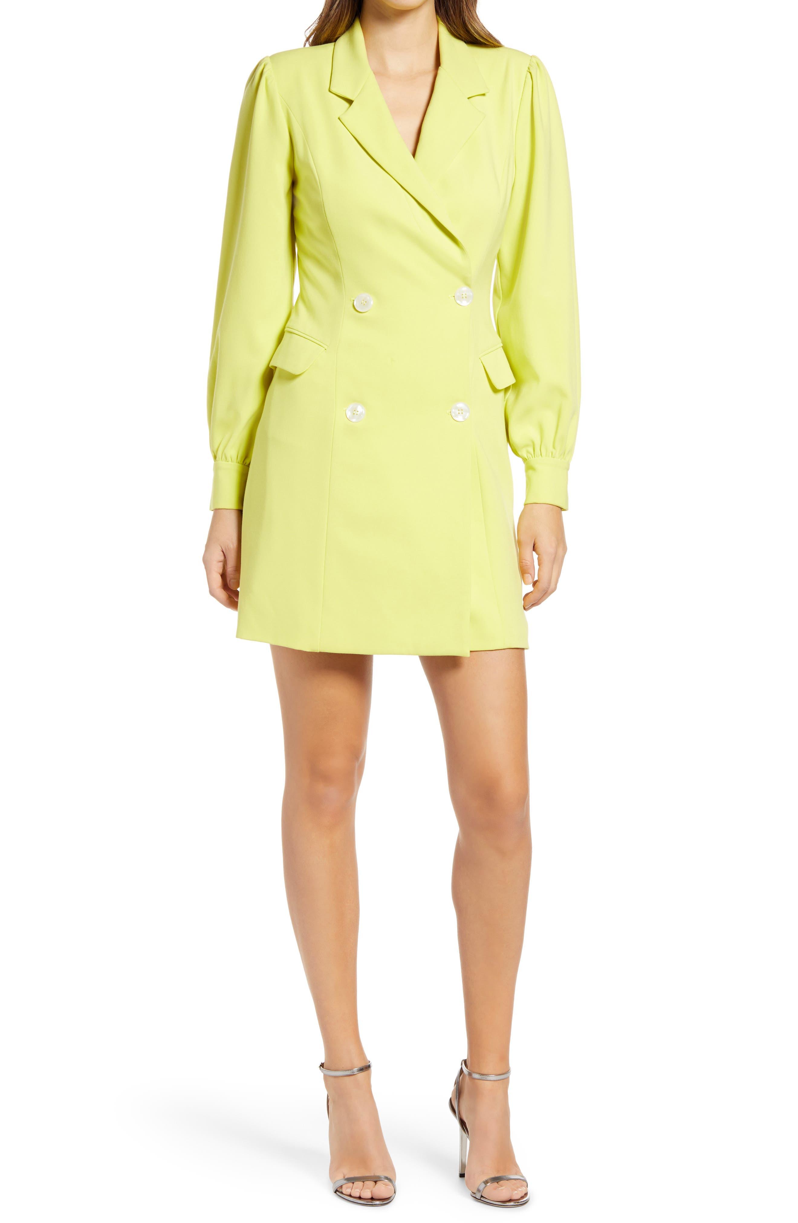 Olympia Long Sleeve Blazer Minidress