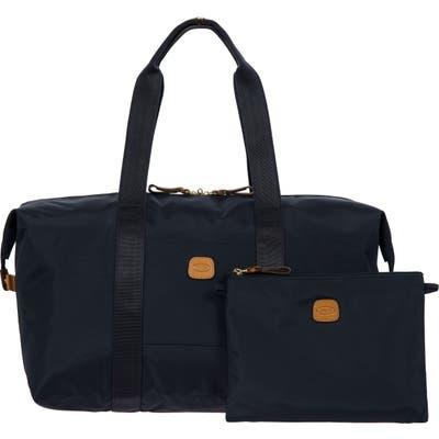 Brics X-Bag 18-Inch Folding Duffle Bag - Blue