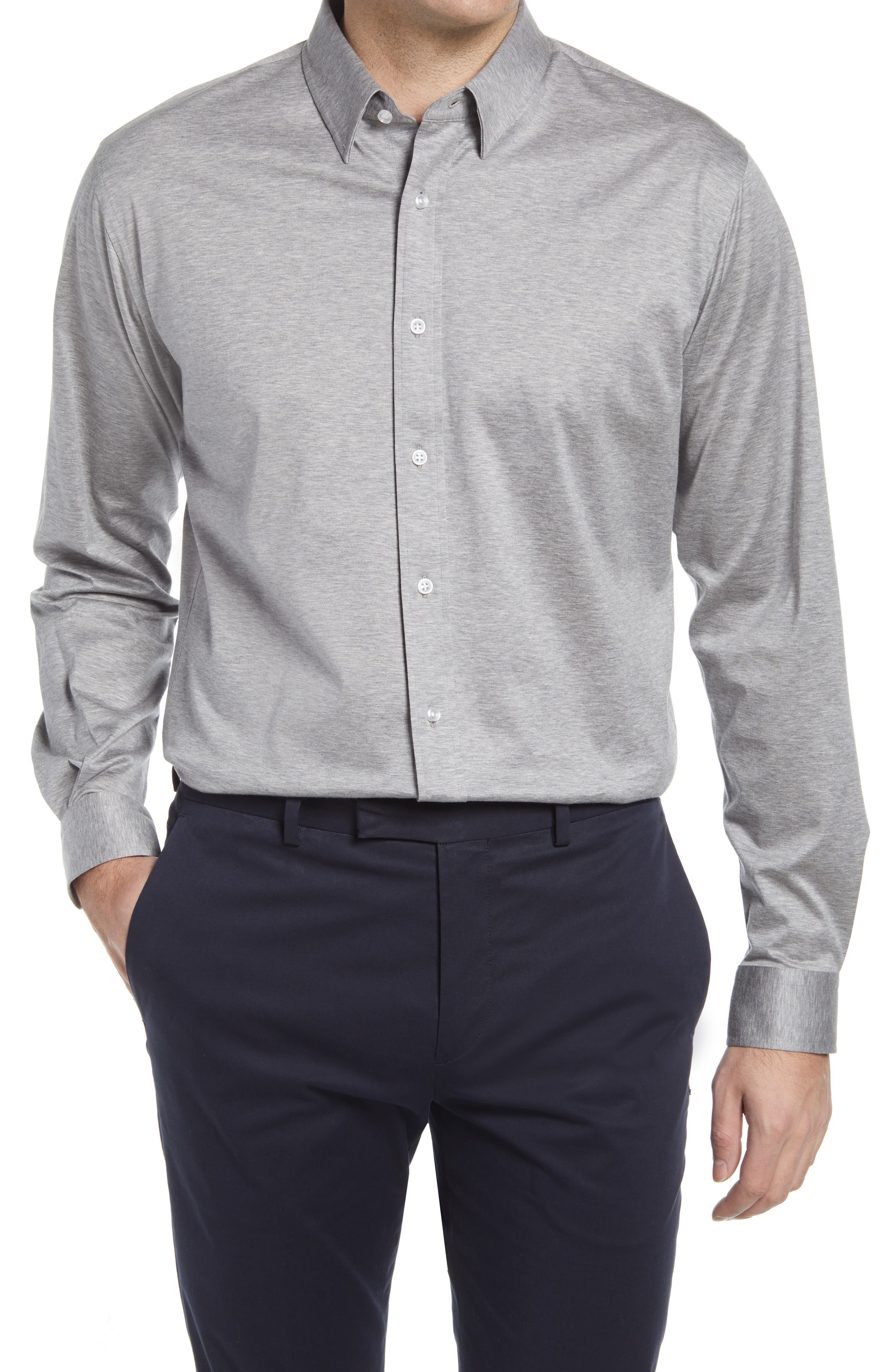 The Zoom Tailored Fit Button-Up Shirt