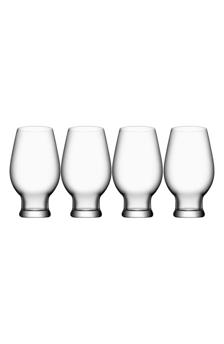 ORREFORS 'IPA Beer' Glasses, Main, color, CLEAR