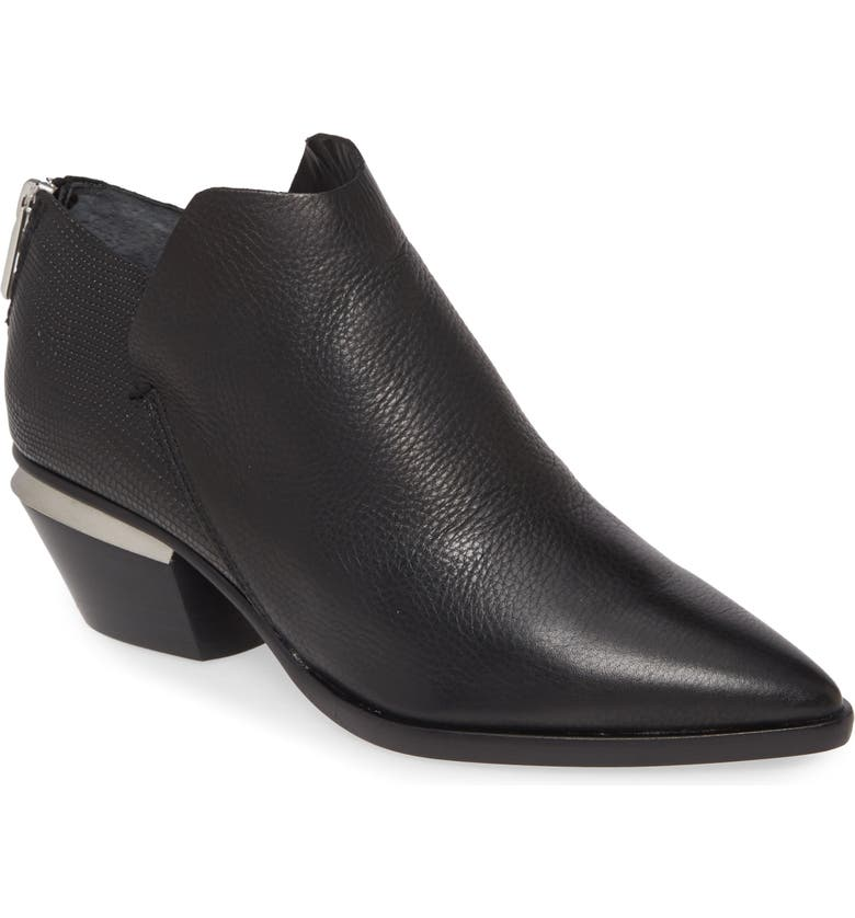 DOLCE VITA Marca Bootie, Main, color, BLACK LEATHER
