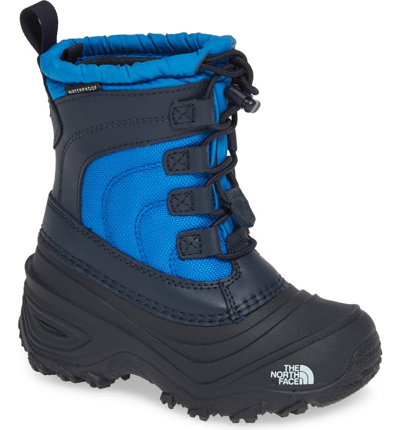 THE NORTH FACE 'Alpenglow IV' Bungee Lace Waterproof Boot, Main, color, 402