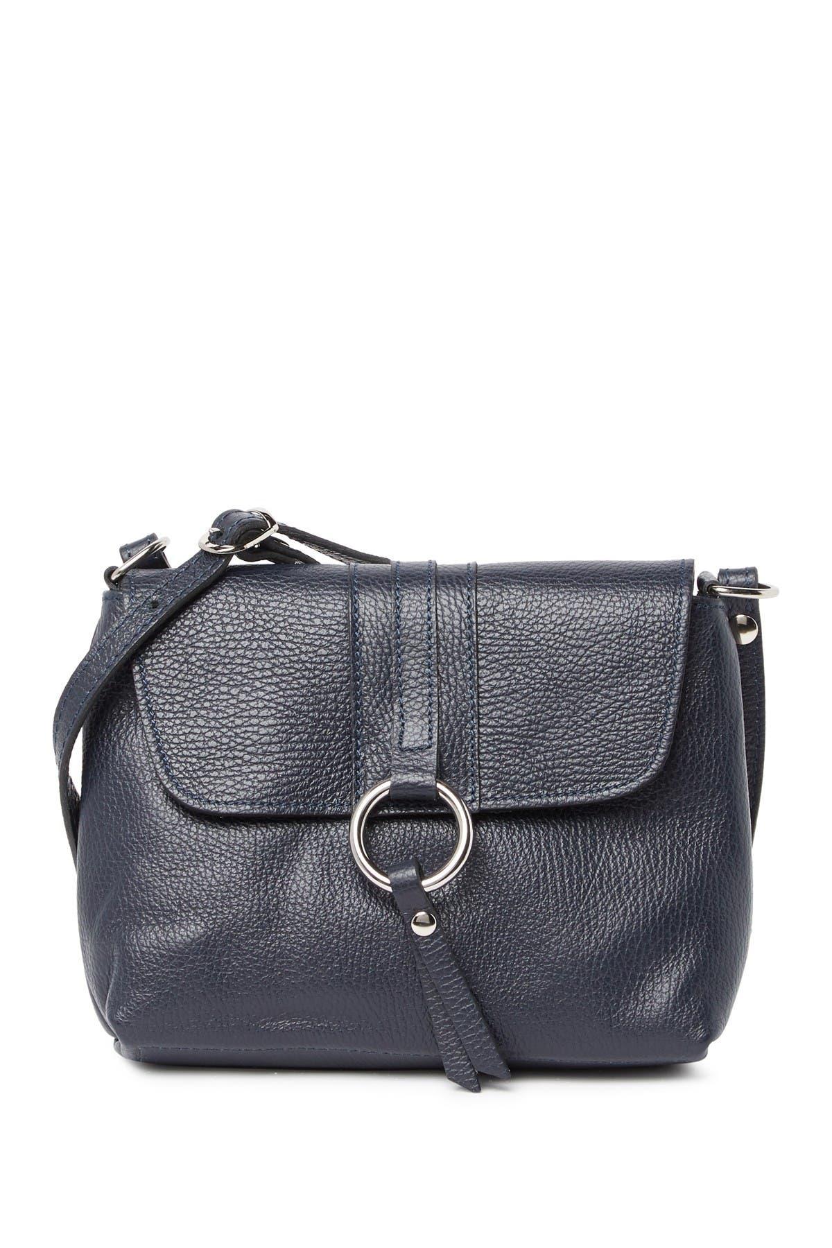 Image of Anna Luchini Leather Crossbody Bag