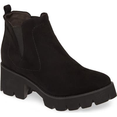 Bc Footwear Fight For Your Right Vegan Leather Bootie, Black