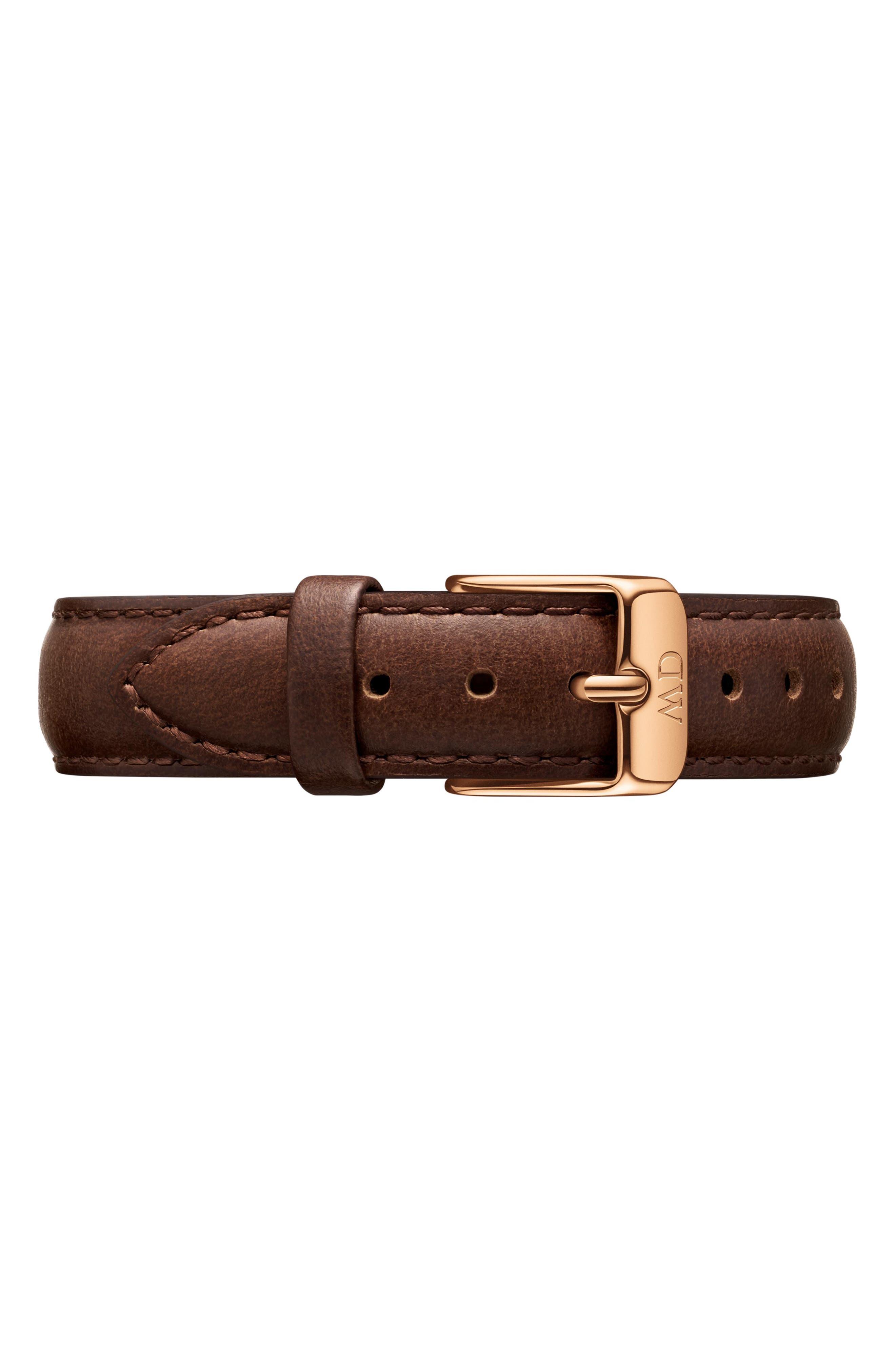 14mm Petite Bristol Leather Watch Band