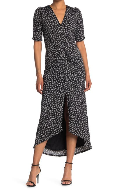 Image of AFRM Samie Printed Midi Dress