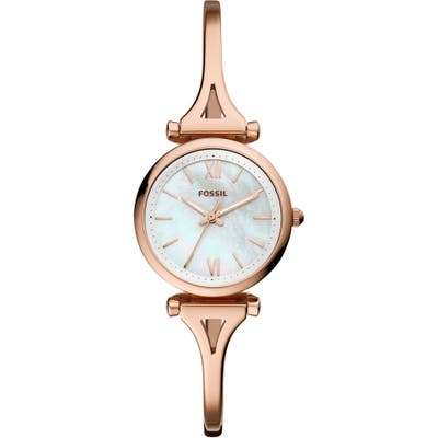 Fossil Mini Carlie Bracelet Watch, 2m