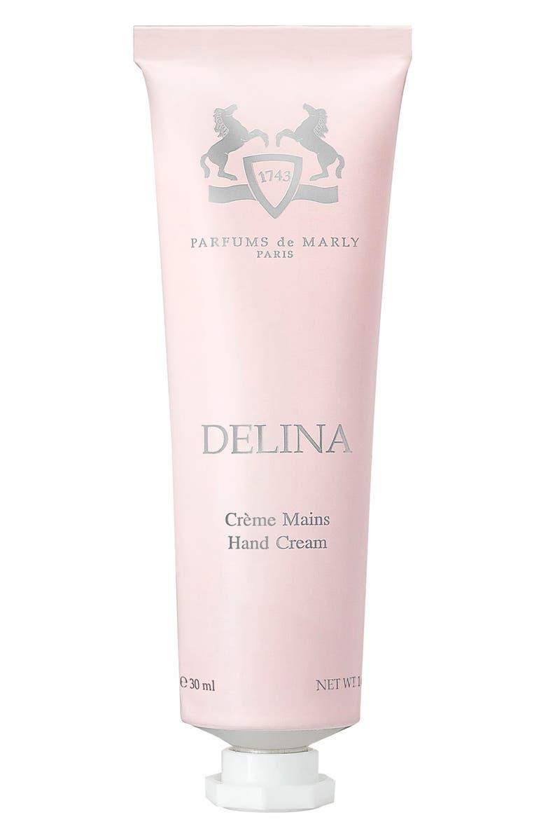 PARFUMS DE MARLY Delina Hand Cream, Main, color, NO COLOR