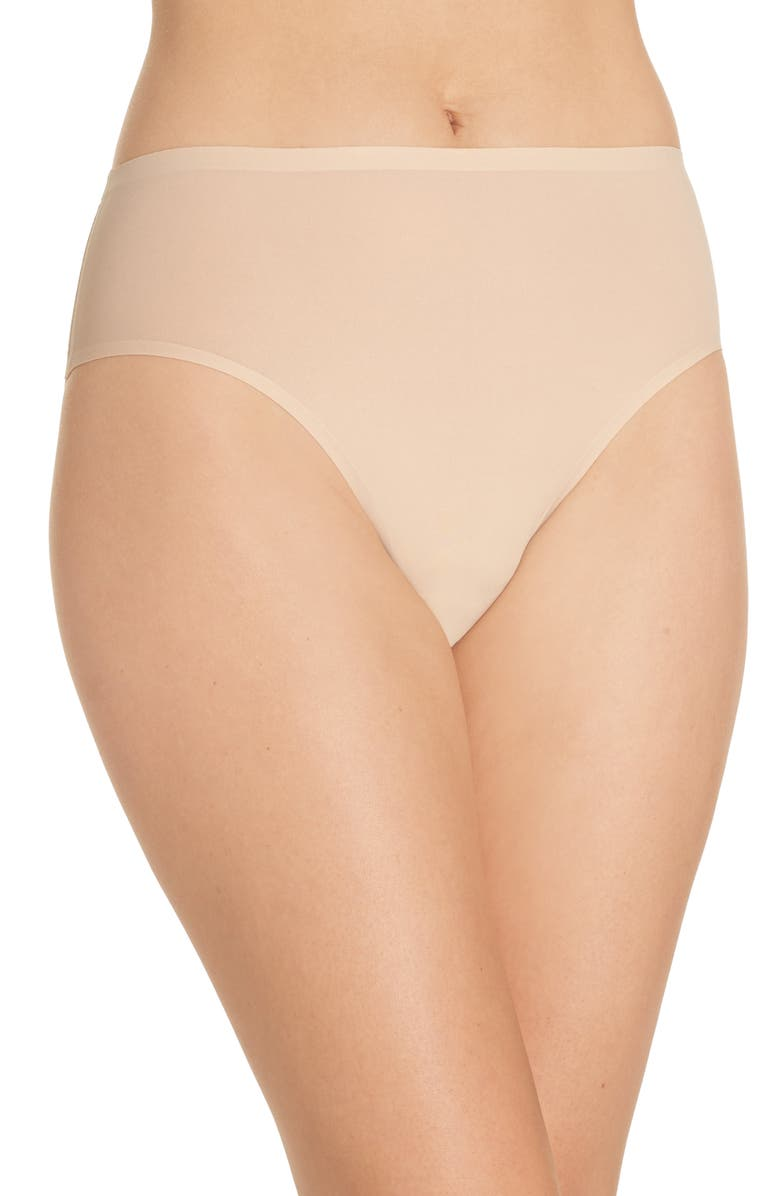CHANTELLE LINGERIE Soft Stretch Seamless French Cut Briefs, Main, color, ULTRA NUDE