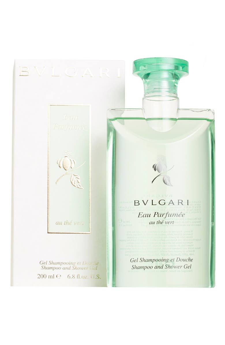 BVLGARI 'Eau Parfumée au thé vert' Shampoo and Shower Gel, Main, color, NO COLOR