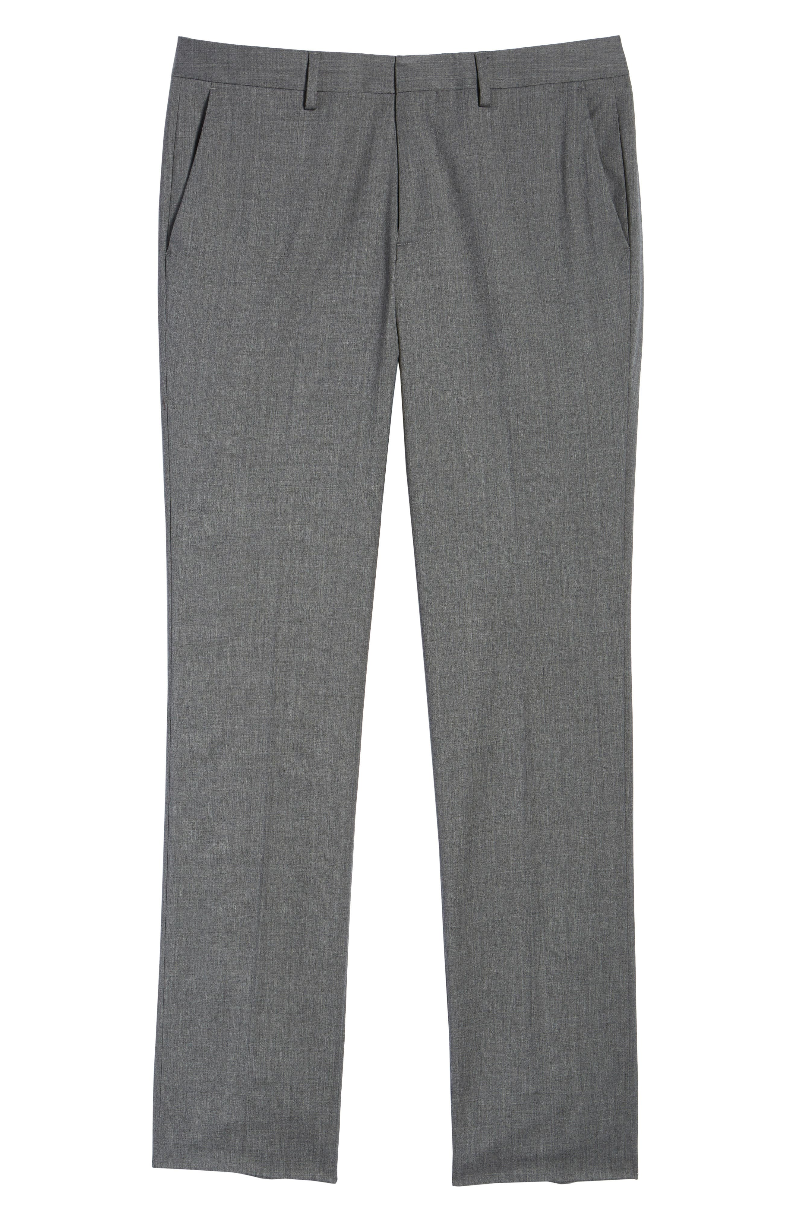 ,                             Jetsetter Slim Fit Flat Front Stretch Wool Trousers,                             Alternate thumbnail 25, color,                             050