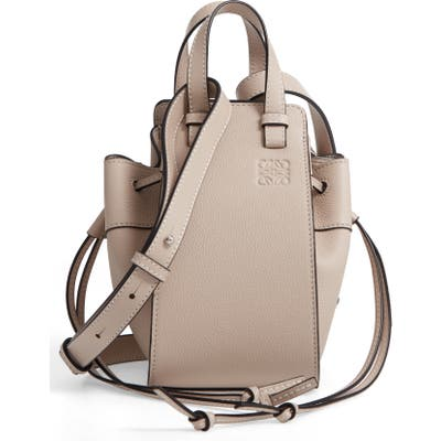 Loewe Hammock Mini Leather Hobo - Beige