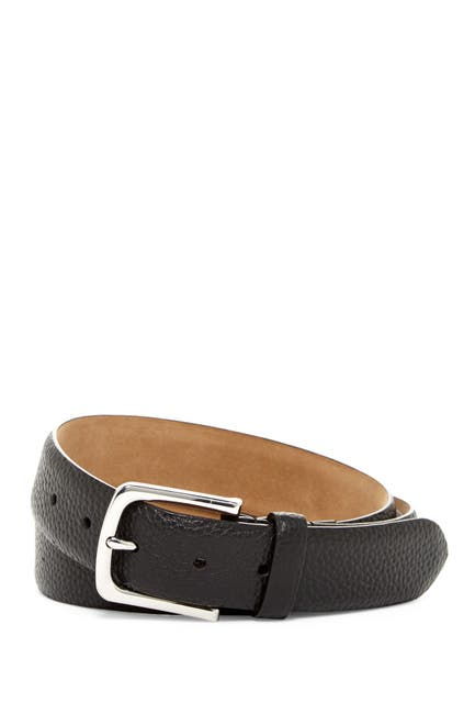 Image of Cole Haan Pebble Leather Pant Belt