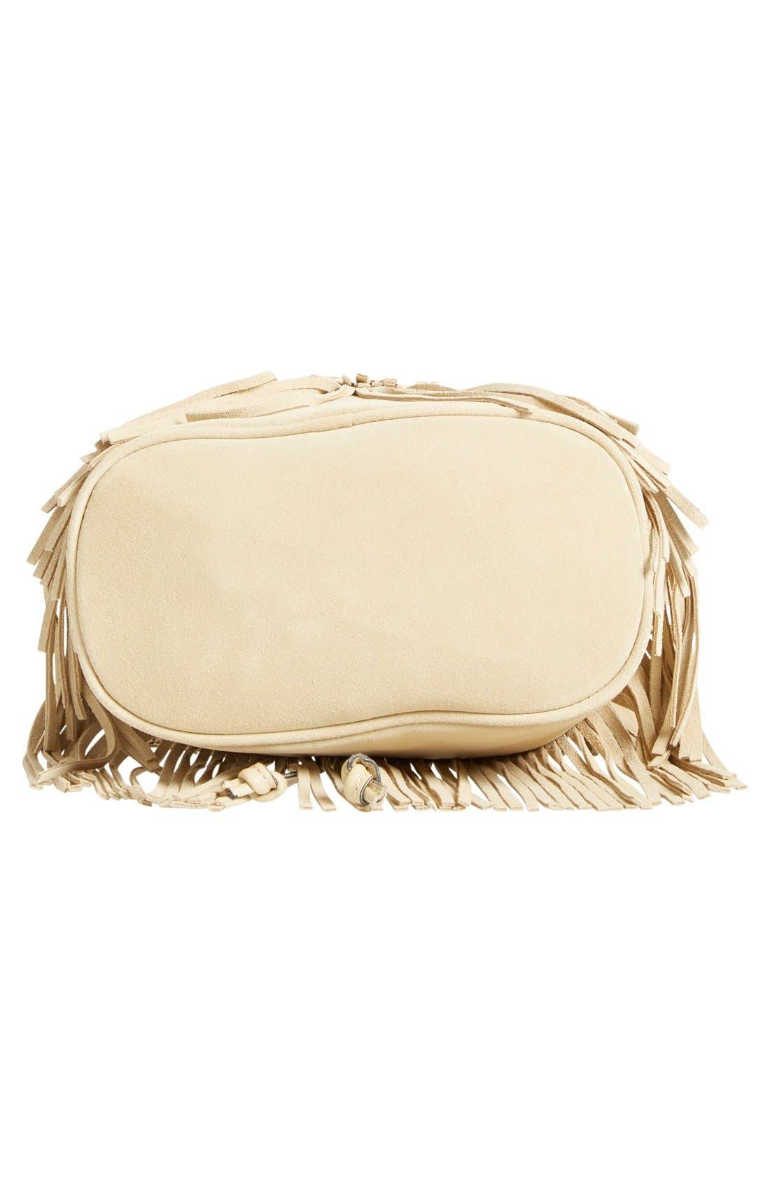 ,                             'Bronte' Fringe Bucket Bag,                             Alternate thumbnail 8, color,                             200