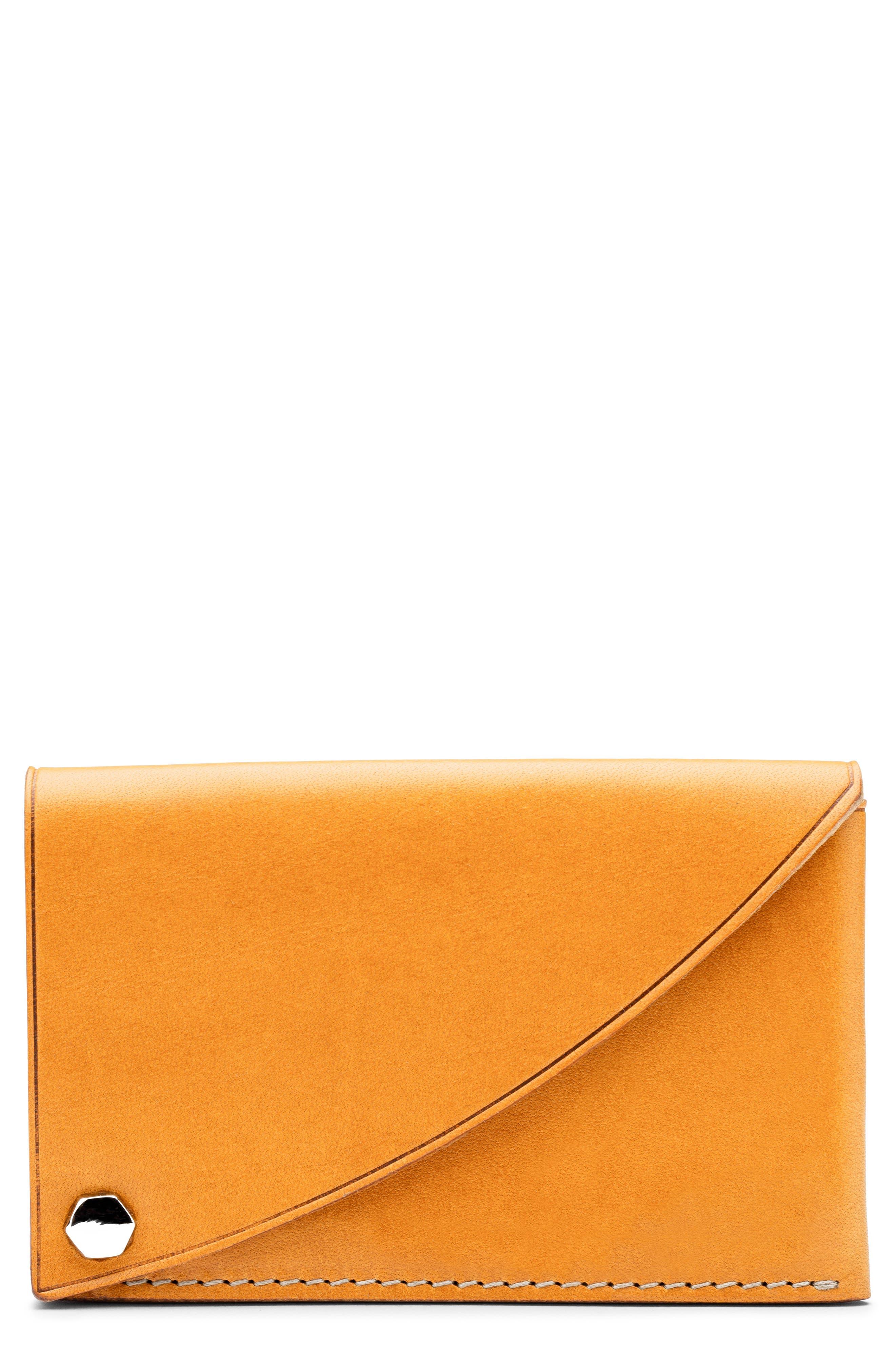Italo Leather Flipper Card Case