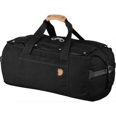 Fjallraven Duffle No. 6 Small Convertible Duffle Bag - Black