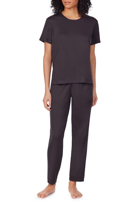 Image of Z WELL Mesh Trim Interlock Sleep T-Shirt
