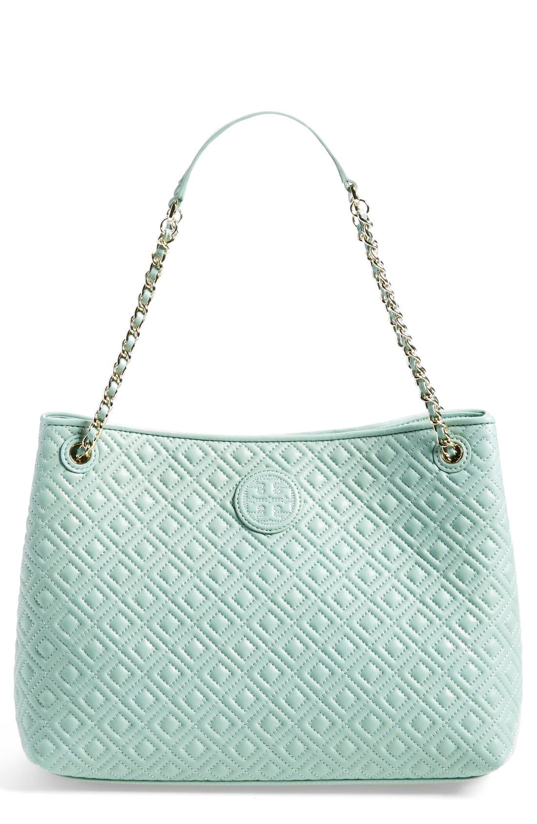 ,                             'Marion' Diamond Quilted Leather Tote,                             Main thumbnail 3, color,                             300