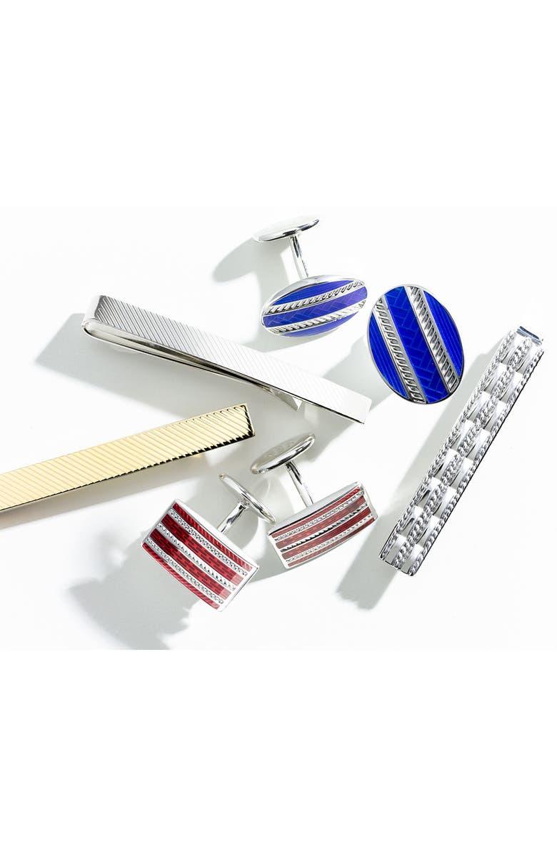 DAVID DONAHUE Sterling Silver Tie Clip, Main, color, 041