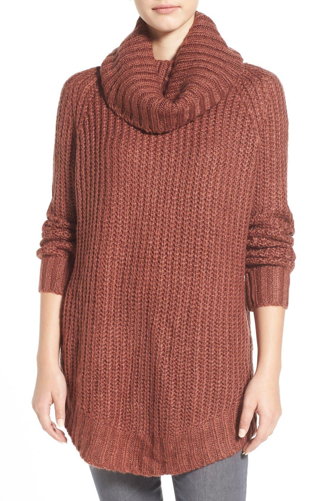 ,                             Cowl Neck Sweater,                             Main thumbnail 29, color,                             600