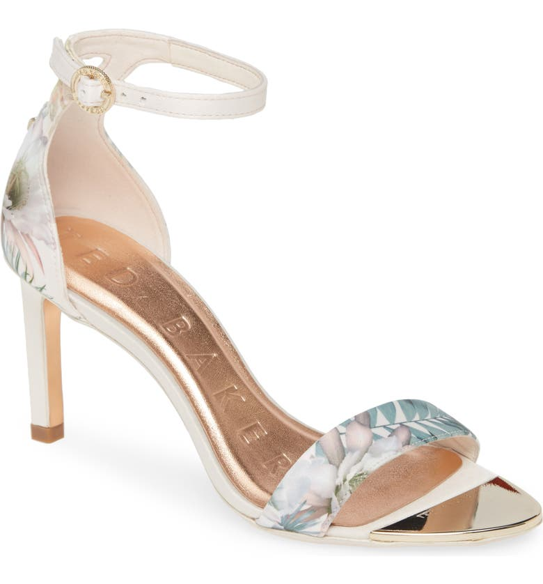 TED BAKER LONDON Mwilli Ankle Strap Sandal, Main, color, PINK SATIN