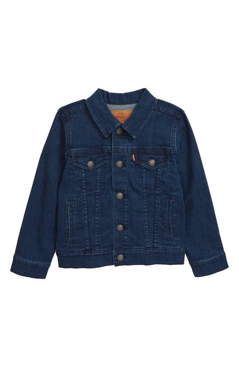LEVI'S<SUP>®</SUP> Trucker Denim Jacket, Main, color, TWO TONE