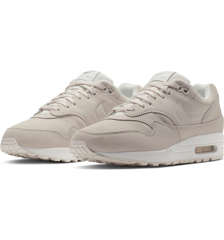 separation shoes 6aa7d 6bca7 Air Max 1 Premium Sneaker, Main, color, WHITE  WHITE  PLATINUM